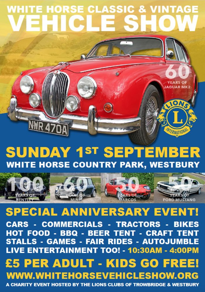 White Horse Classic & Vintage Vehicle Show 2019