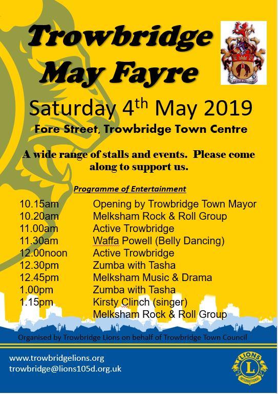 Trowbridge May Fayre 2019