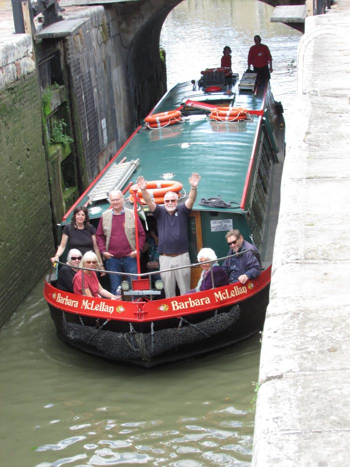Granny Canal Boat Trip 2019